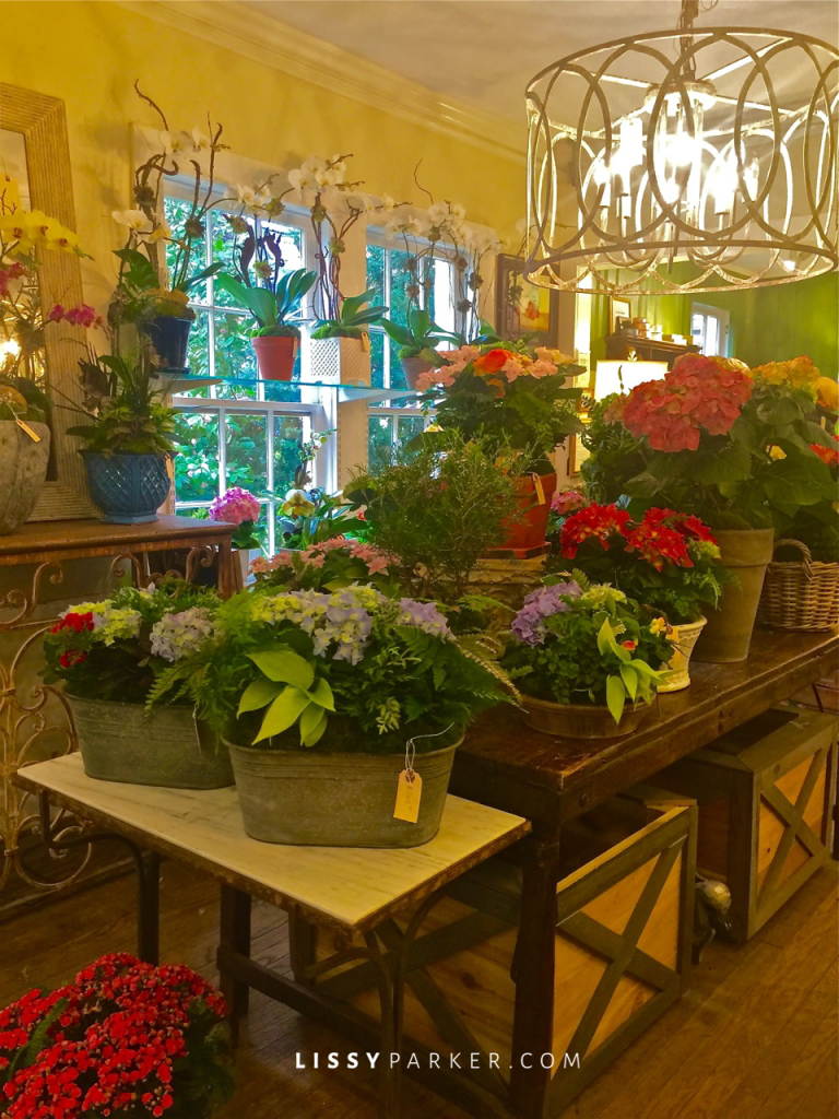 Tables are full of Spring blooms