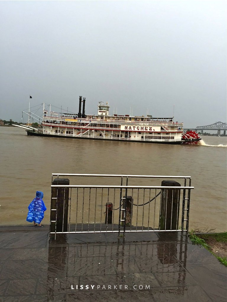 River boat on the Mississippi river