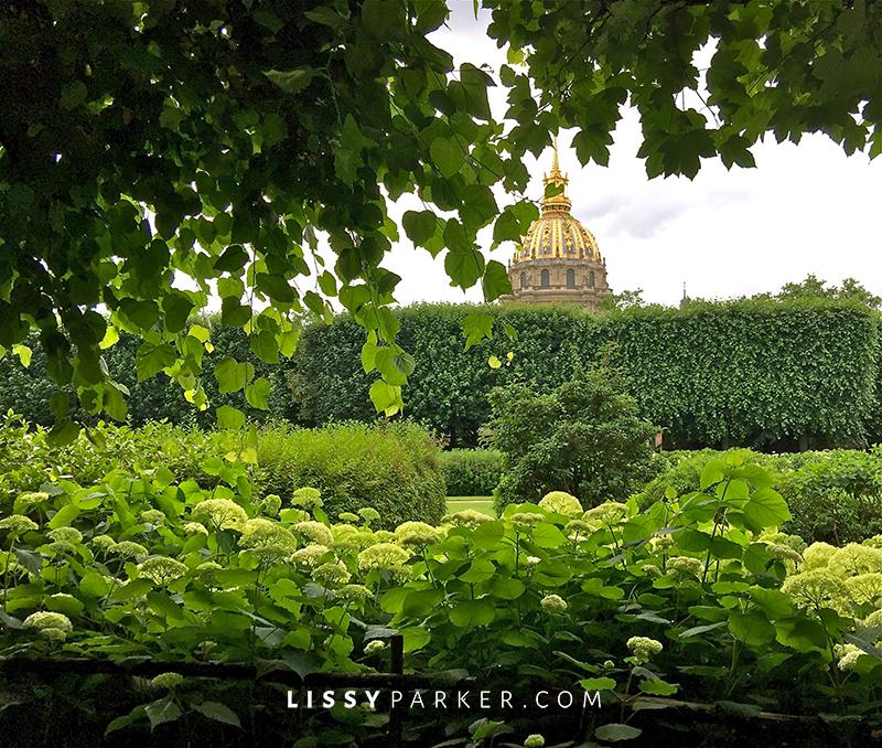 Roden museum garden in warm friendly France