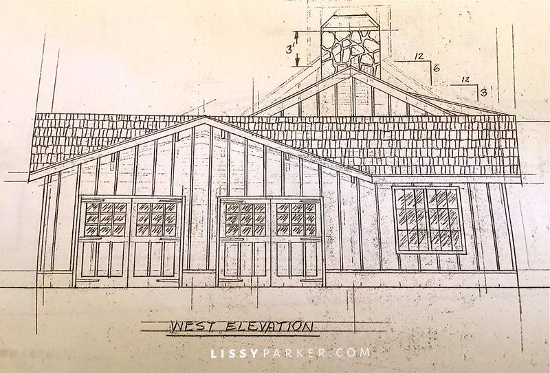 drawing of garage