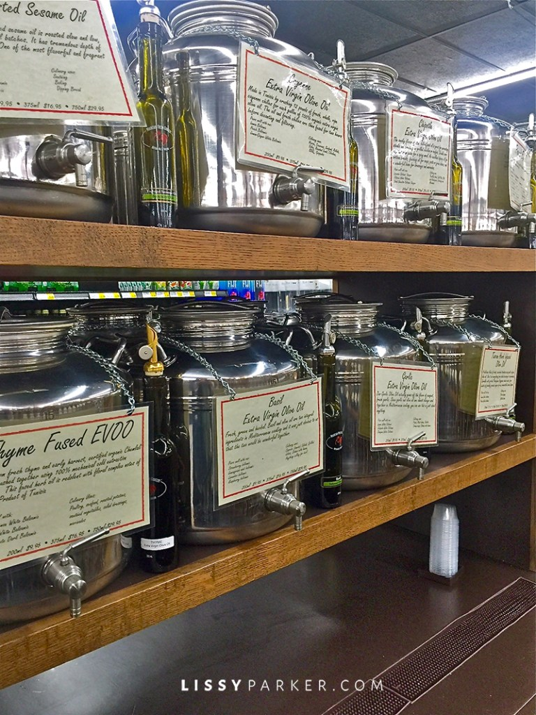 Extra Virgin olive oil in the steel cases