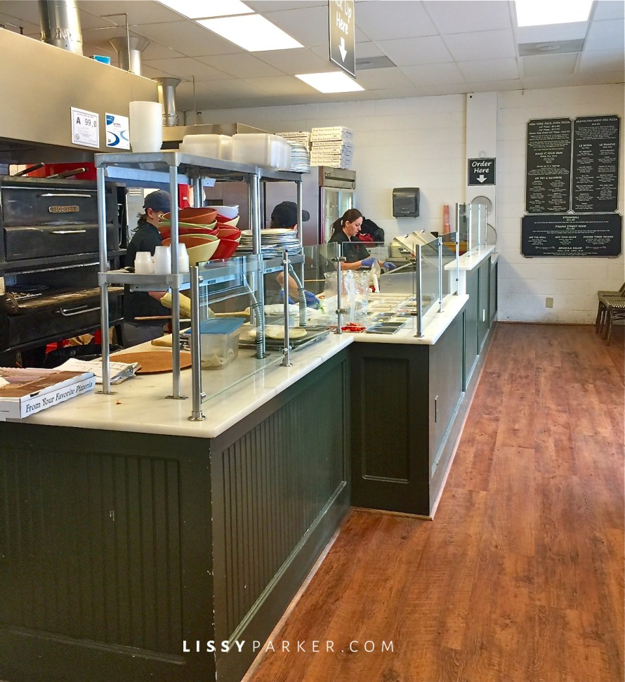 pizza and pasta bar
