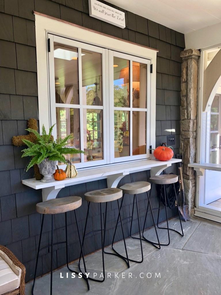 mountain porch