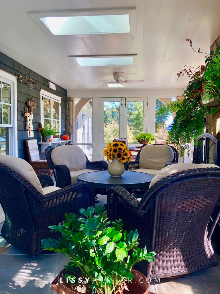 mountain house porch