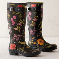 Hunter Floral Garden Boots