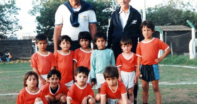 Lione Messi in Newell's Old Boys football club