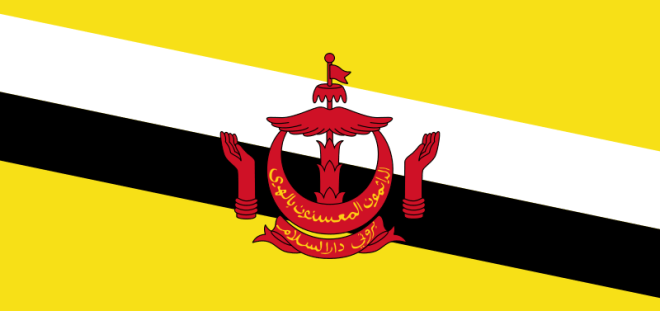 brunei_flag - Small But Rich Countries