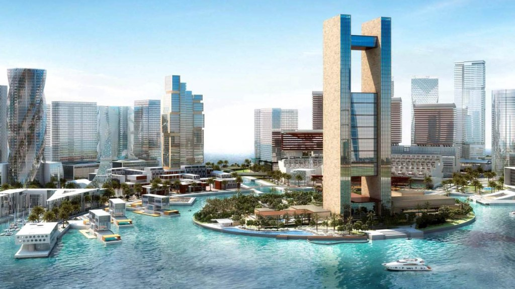Four Seasons Bahrain, perspective