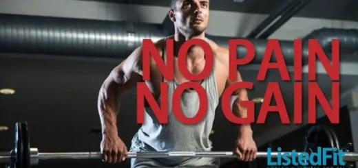 no pain no gain myth