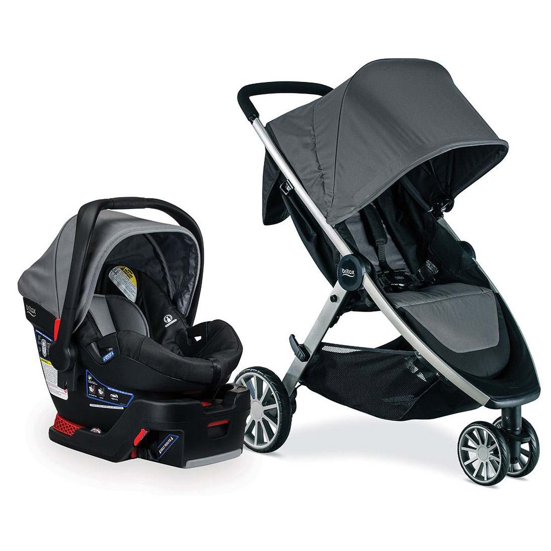 Stroller Travel System Ebay Details About Britax S05587900 B Lively And B Safe Stroller And Car Seat Travel System Dove