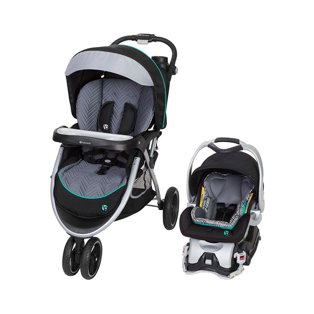 Stroller Travel System Ebay Details About Baby Trend Skyview Plus Adjustable Stroller And Car Seat Travel System Ziggy