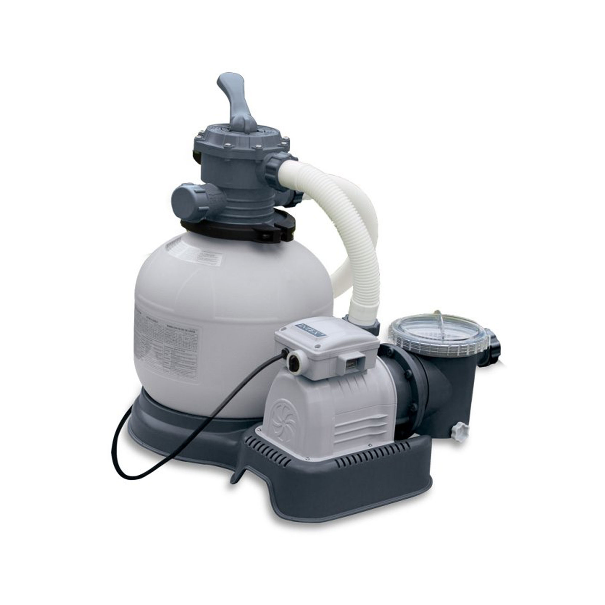 Pool Filter Pump Pressure Too High Details About Intex Krystal Clear 2800 Gph Above Ground Pool Sand Filter Pump 28647eg