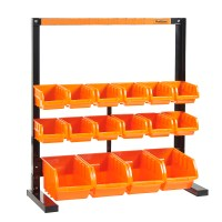 VonHaus Heavy Duty 10 Bin Storage Rack DIY Garage