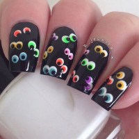 40+ Cute and Spooky Halloween Nail Art Designs - Listing More