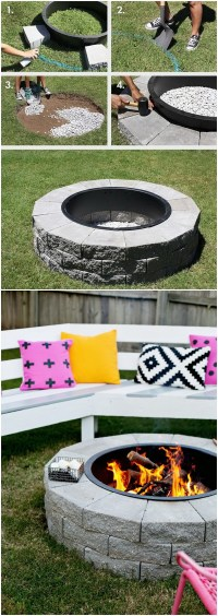 20 DIY Fire Pits for Your Backyard with Tutorials ...