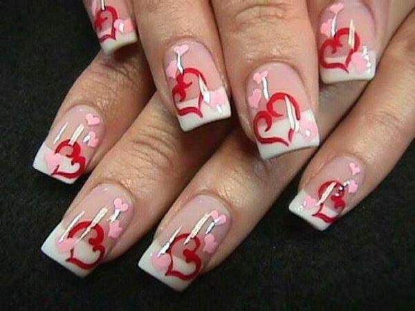 70 Romantic Valentine39s Day Nail Art Ideas Listing More