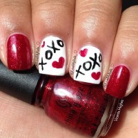 70+ Romantic Valentine's Day Nail Art Ideas - Listing More