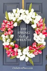 Easy DIY Spring Decoration Ideas - Listing More