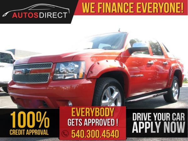2009 Chevrolet Avalanche 1500 Lt With 2lt 4wd For Sale In