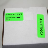 LUTRON NFC-1U-WH, FLUORESCENT DIMMER SYSTEM COMPONENT ...