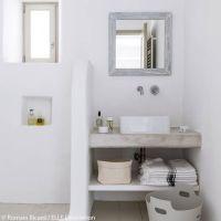 Ide dcoration Salle de bain - Salle de bains aux teintes ...