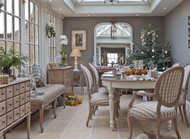 Salle à manger - Vale jardin Maisons salle à manger de Noël