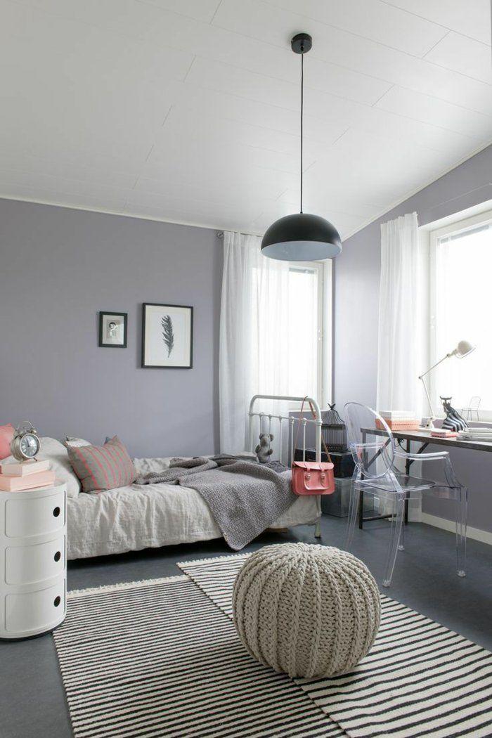 Relooking et décoration 2017 / 2018 - Chambre de fille ado idée déco