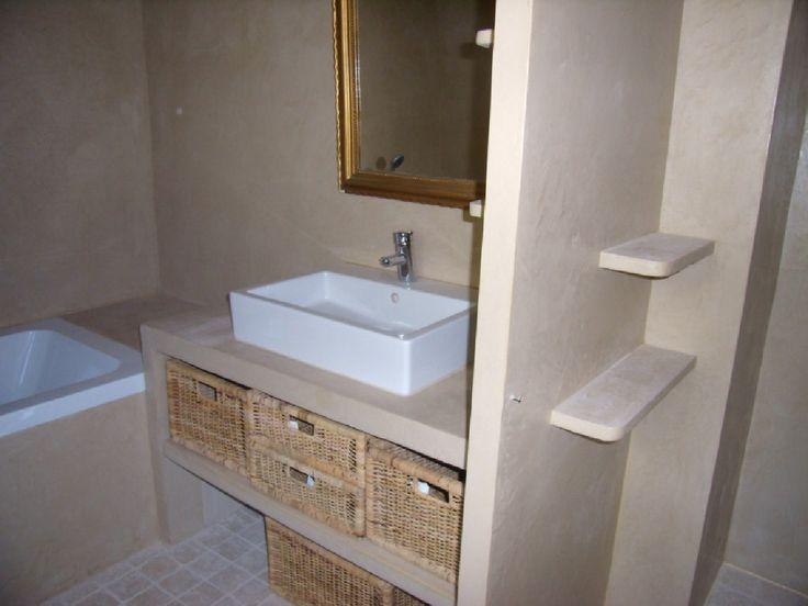plan de vasque de salle de bain SIPOREX - Recherche Google - Salle De Bain En Siporex