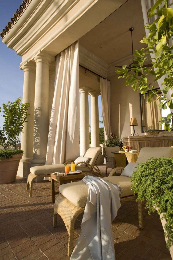 Decoration Terrasse Contemporaine | Espacement Lambourde Terrasse ...