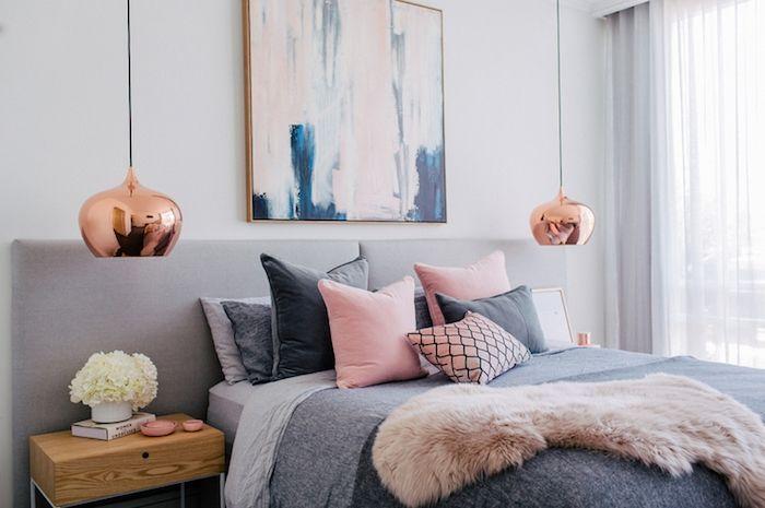 Idée relooking cuisine - couleur chambre adulte, modele de chambre