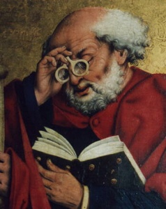 Friedrich Herlin, Reading Saint Peter (1466)