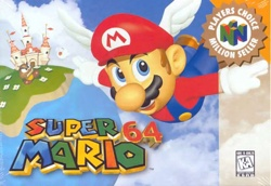 Super Mario 64 Box Cover