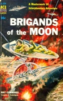 Emshwiller, Brigands Of The Moon, Ace D324