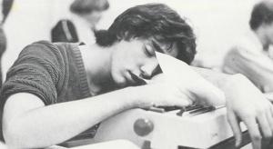 Sean Asleep At The Keyboard