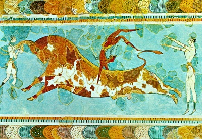 Bullleapingfresco
