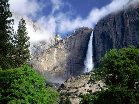 Yosemite Falls Na Park, Ca