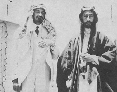 Weizmann And Feisal 1918