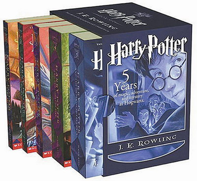 Harry-Potter-Books