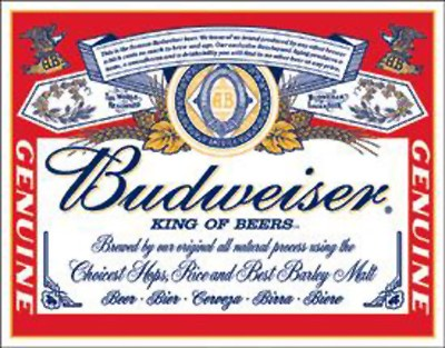 Budweiser - Label