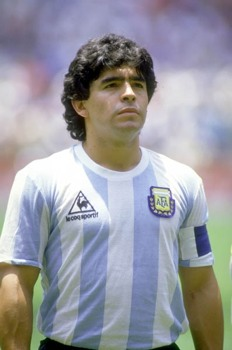 Diego Maradona Escorpio