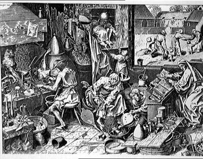 Bruegel Alchemist