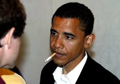 Obama-Smoking