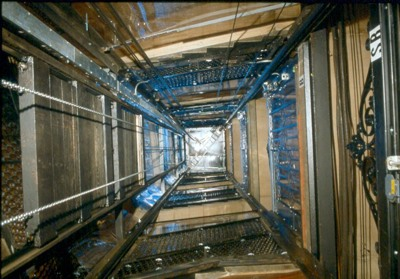 Elevator Shaft View
