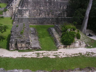 Tikal Ballcourt