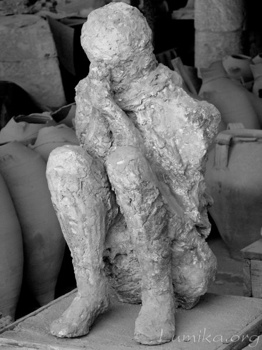 Plaster Cast-Pompeii