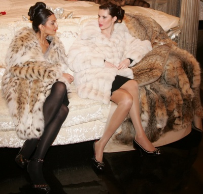 Fashion Fur Coat  007