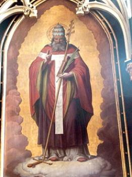 250Px-Altenfelden - Hochaltar - Papst Sixtus Ii. 1858