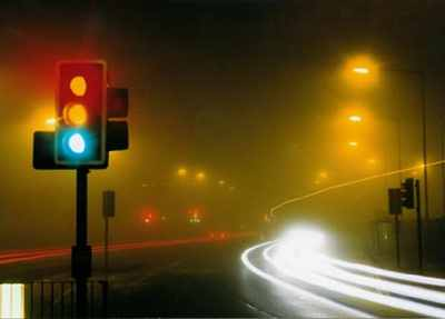 Traffic Lights Mist