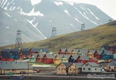 Spitsbergen-Houses