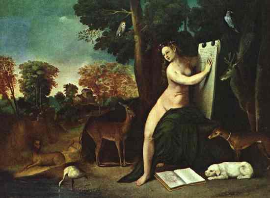Circe And Her Lovers In A Landscape Wga